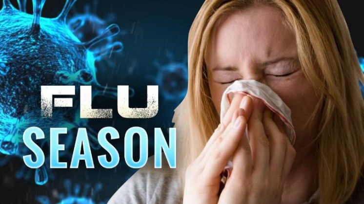 Flu lasts for more than an hour in air and on surfaces
