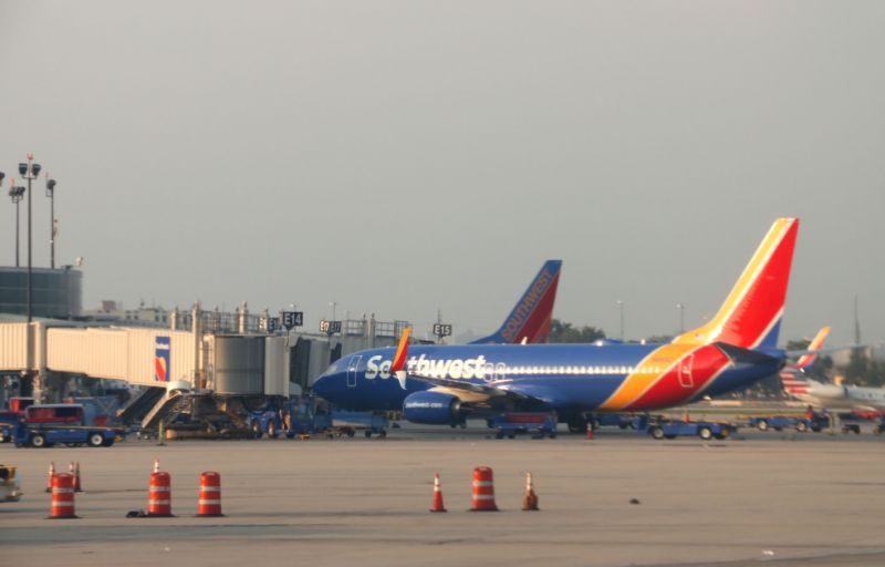 Passengers on 4 Southwest flights may have been exposed to measles