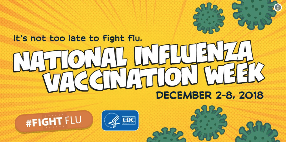 Health officials push for flu vaccine during National Influenza Week
