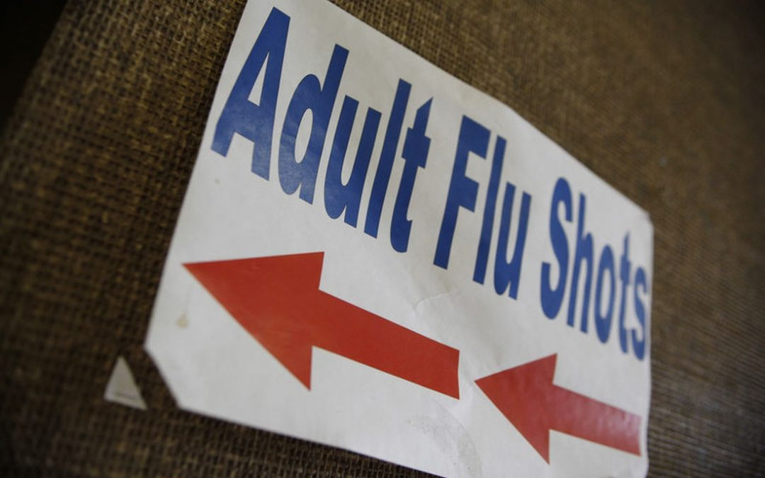 Flu shots tied to lower risk of premature death with heart failure