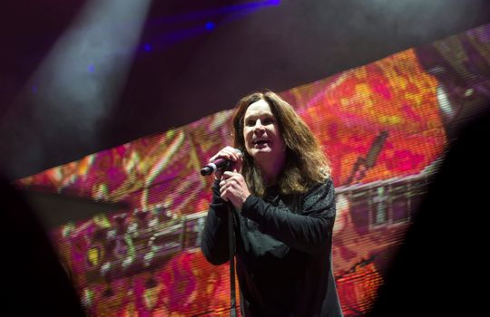 Ozzy Osbourne is in the hospital for 'complications from the flu' says wife Sharon