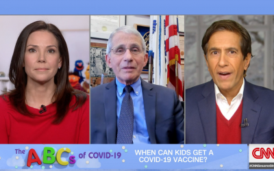 Dr. Fauci explains when kids will get vaccinated